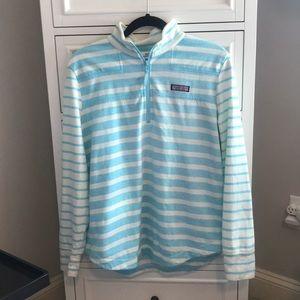 Vineyard Vines Blue Striped Shep Shirt